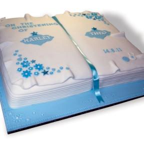 Christening book_blue