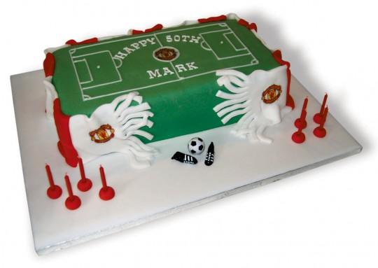 Football pitchManU_50th