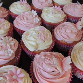 Pink&Cream cupcakes