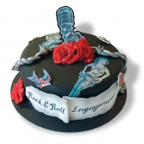Tattoo cake