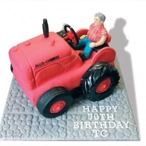Tractor & Man