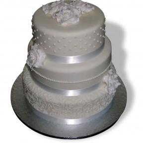 Wedding 3 tier white