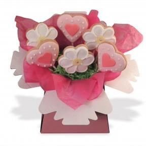 Heart Cookie Bouquet