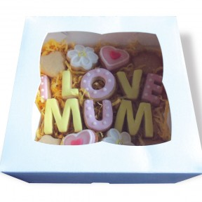 I Love Mum cookies