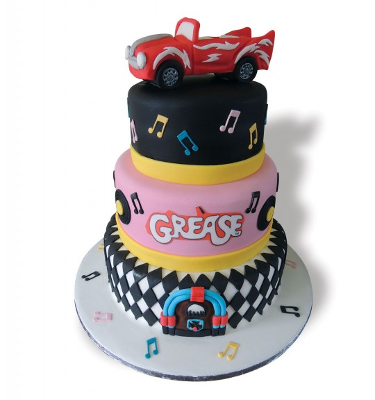 Grease Movie Cake Ideas 88571 | Grease Party Ideas Picture