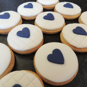 Chestnut Tree House heart cookies