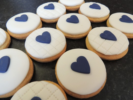 Chestnut Tree House heart cookies