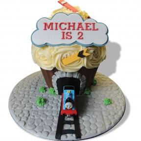 Thomas Giant Cupcake