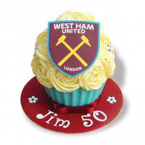 West Ham Giant Cupcake_2016