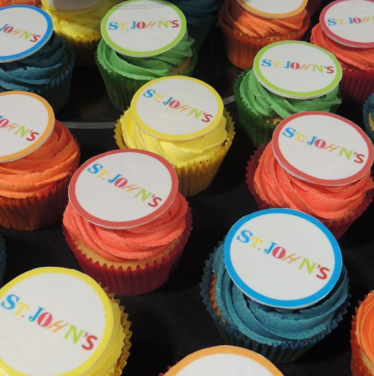 St Johns Cupcakes