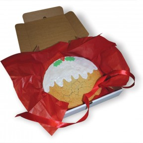 Xmas Pud cookie in box