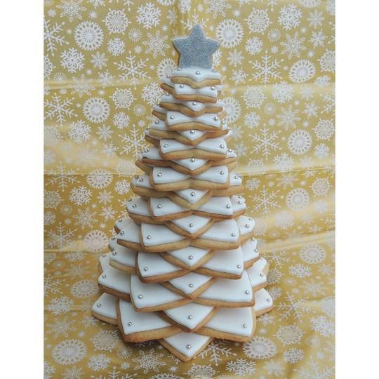 Xmas Tree Cookie Tower