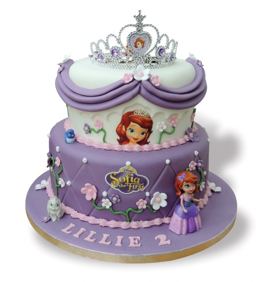 Simply Marvellous Cakes Princess Sofia The First