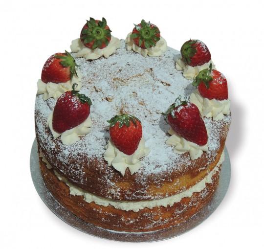 Strawberry Vic Sponge