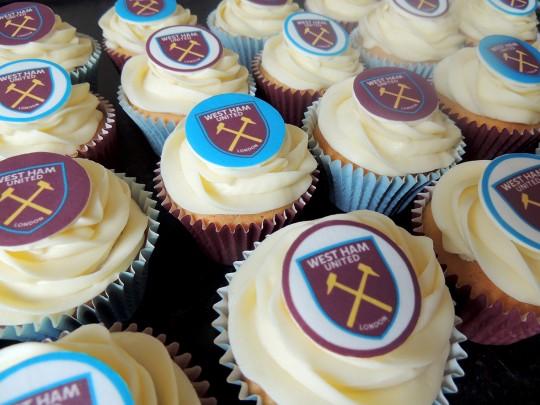 West Ham cupcakes_2016