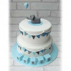 2tier Christening Elephant