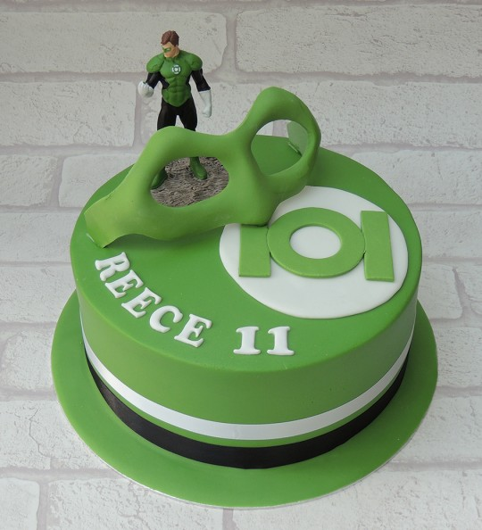 Simply Marvellous Cakes Green Lantern