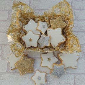 Star Xmas cookies