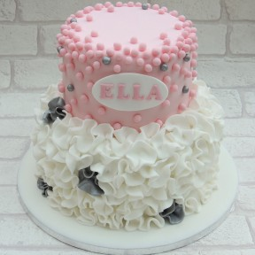 2 tier dots and frills