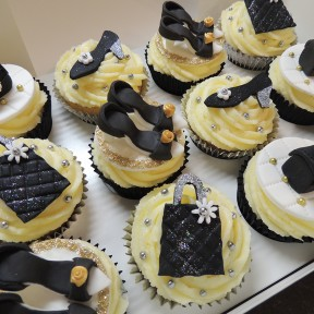 Handbags & Shoes cupcakes