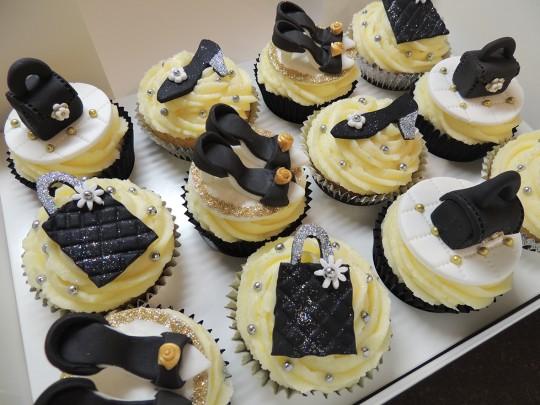 Handbags & Shoes cupcakes