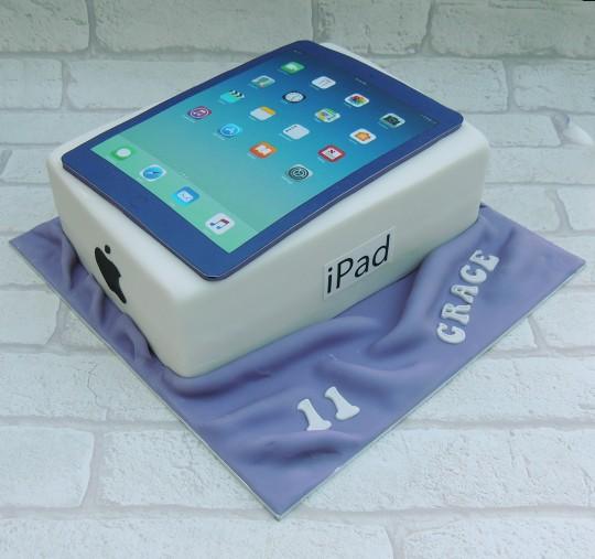Purple iPad
