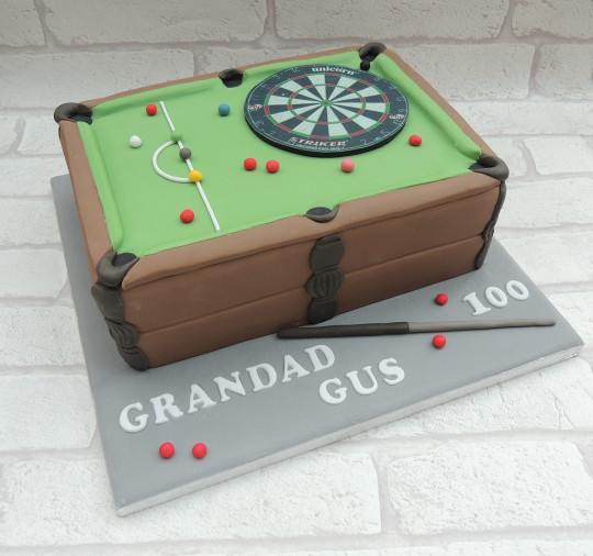 Snooker Table & Dartboard
