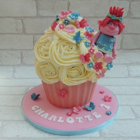 Trolls Giant Cupcake