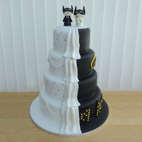 4 Tier Wedding_Half Batman