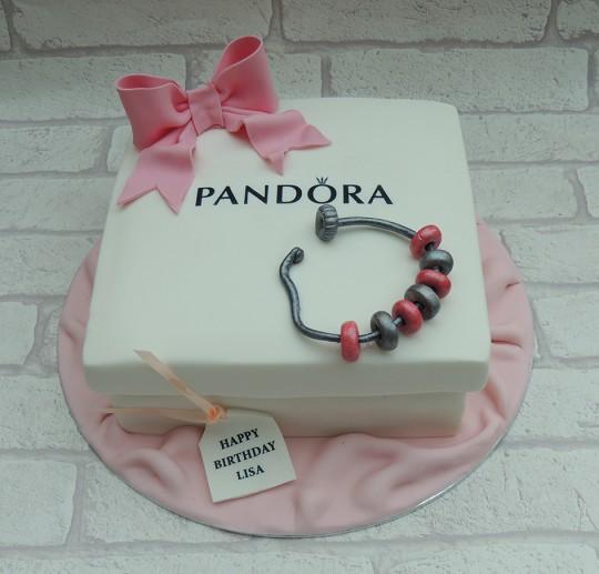 Pandora bracelet & box