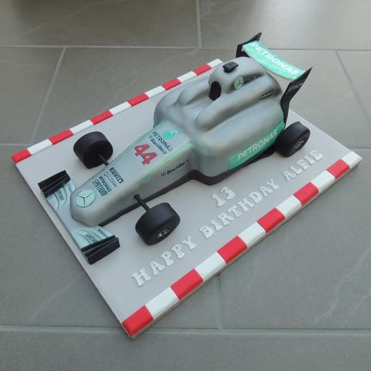 Merecedes F1 Car