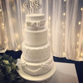 Wedding 4 tier_white