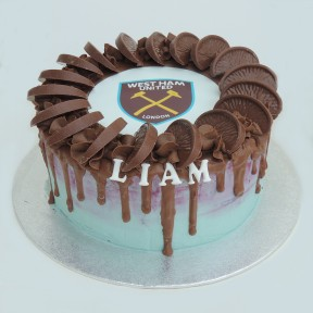 West Ham choc orange