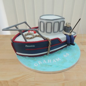Boat & Fisherman