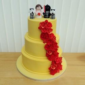 Wedding 3 tier Star Wars:Beauty Beast